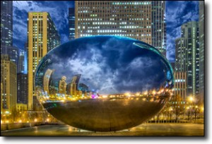 Joe Lekas: HDR of the Chicago Bean