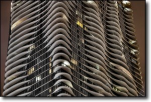 Joe Lekas: Chicago Aqua Tower Balcony Detail