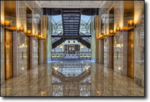 Joe Lekas: Rookery Hallway - Chicago HDR