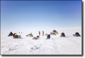Beardmore Glacier Camp