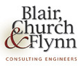 Blair, Church & Flynn logo